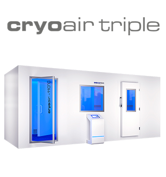 cryoair triple model de criocamera