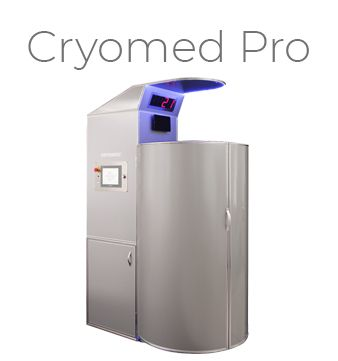 Cryomed Pro, model de criosauna