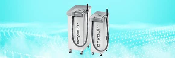 Cryoair, echipament de crioterapie pentru ingrijire personala